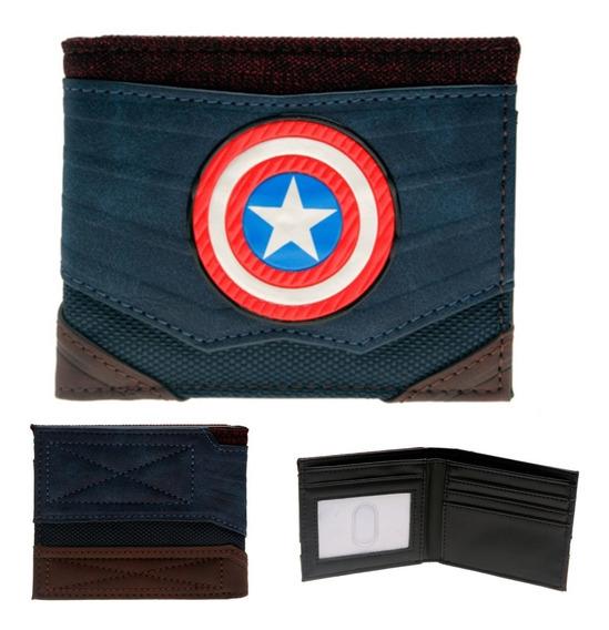 Cartera Capitán América Escudo Marvel Avengers Endgame Cap