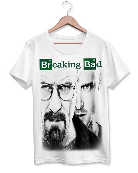 Camiseta T-shirt - Breaking Bad Walter White Heisenberg