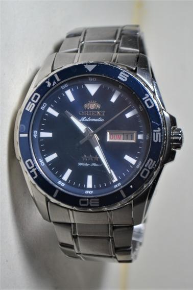 Relógio Masculino Orient Automatic 3 Estrelas 469ss064