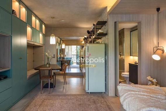 Apartamento Studio À Venda, 38 M² Por R$ 467.968 - República - São Paulo/sp - St0004