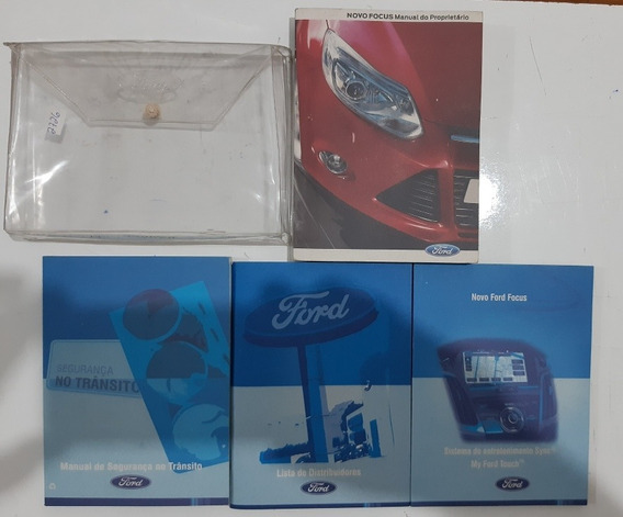 Manual Do Ford Focus 2014 Completo Original #2726