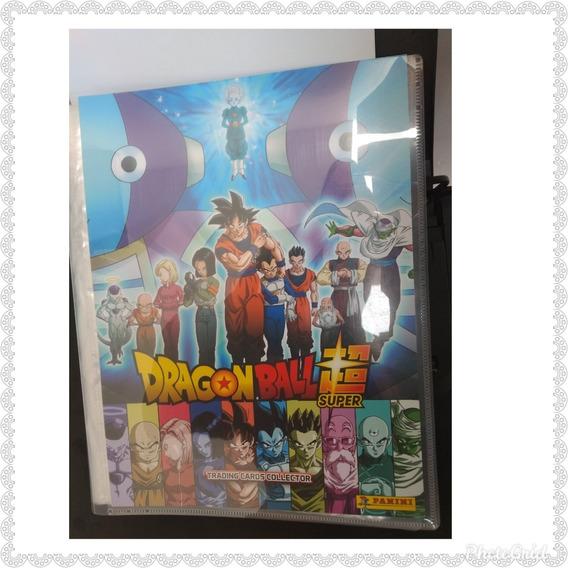 Album Dragon Ball Super Con 9 Estampas Panini Se