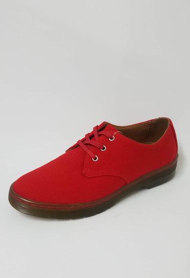 Zapatilla Dr Martens Roja Mujer