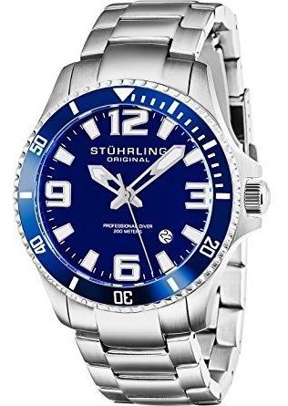 Reloj Buceo Analógico Acero Inoxidable 395.33u16 Stührling