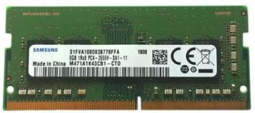 Memoria Samsung 8 Gb Ddr4 Pc4 2666 M471a1k43cb1-ctd Notebook