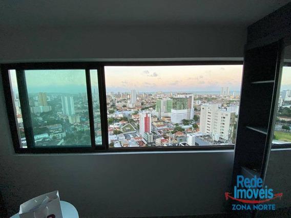 Flat Com 1 Dormitório Para Alugar, 24 M² Por R$ 1.800/mês - Ilha Do Leite - Recife/pe - Fl0351