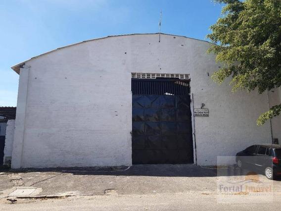 Galpão Para Alugar, 700 M² Por R$ 4.500,00/mês - Jacarecanga - Fortaleza/ce - Ga0118