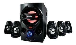 Home Theater 5.1 Stromberg Bluetooth Usb 45 W Rms Radio Fm