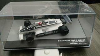 Miniatura Formula 1 Brabham Nelson Piquet Escala 1.43