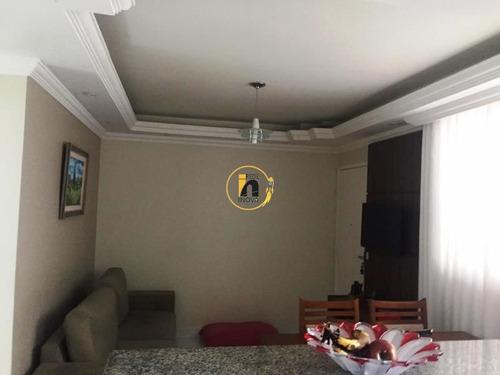 Apartamento Com 2 Quartos Para Comprar No Cabral Em Contagem/mg - Ec17564