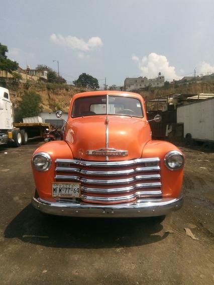 Camioneta Pickup, Chevrolet 1952