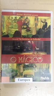Dvd O Mágico - Sylvain Chomet Capa Xerox