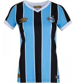 Camisa Grêmio Umbro Feminina Oficial Outubro Rosa E Pt 2019