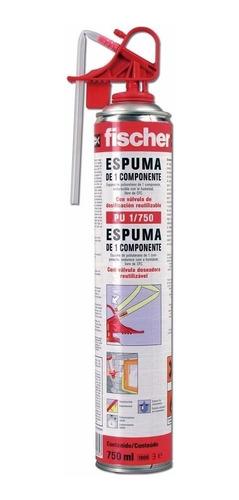 Espuma De Poliuretano Expandido Fischer Aerosol 750ml