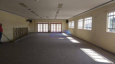 Salão Para Alugar, 200 M² Por R$ 2.500/mês - Vila Nova York - São Paulo/sp - Sl0036