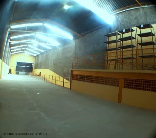 Galpão Para Locação Na Vila Bela  - 1100 Metros² - Gl00073
