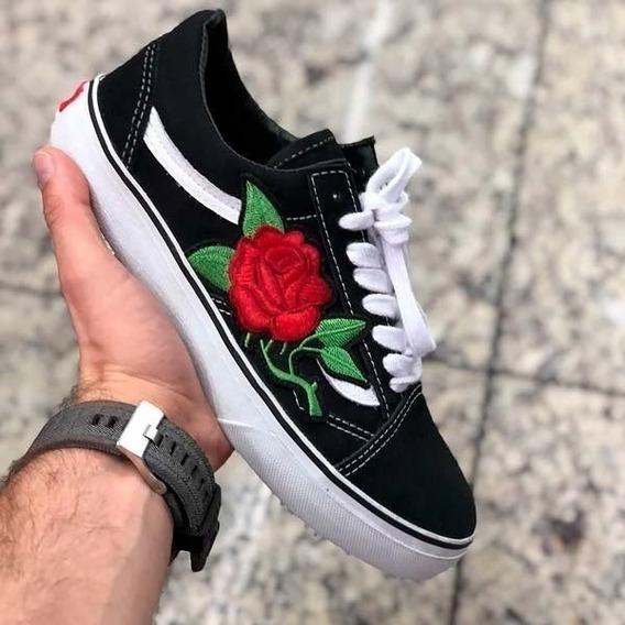 Promoção Tênis Old Skool Com Rosa
