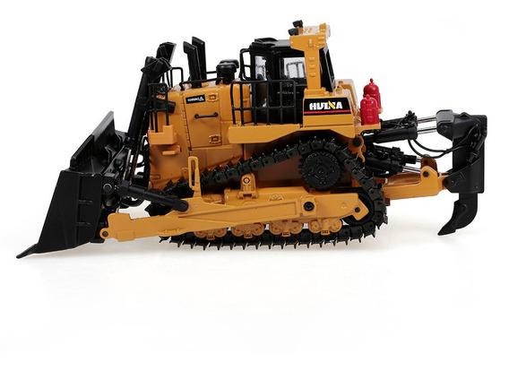 Bulldozer A Escala 1:50 Huina 1700 De Aleación