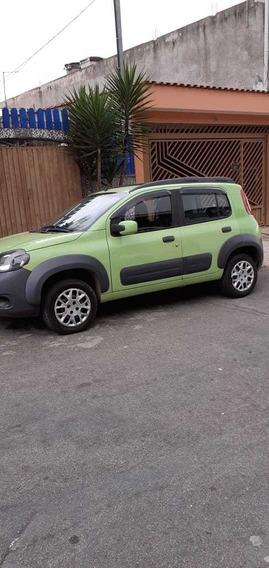 Fiat Uno Way Motor 1.0 2012 Verde-claro 5 Portas Flex