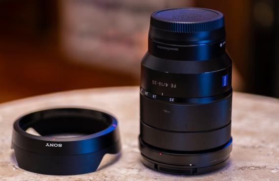 Lente Sony 16-35mm F4 Za Oss - Zeiss - Sel1635z