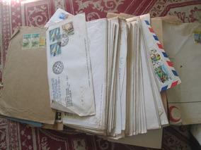 Envelopes De Cartas Postados E Antigos + 200 Unidades