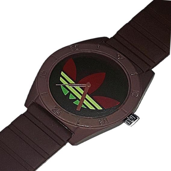 Relógio Unissex Colorido Revenda Barato + Caixinha + Bateria