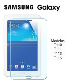 Película Vidro Tablet Tab 3 - T110 T111 T113 T116 Rt