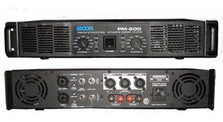 Potencia Moon Pm-600 600 1200w Sonido Dj Profesional