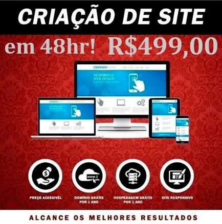 Criação Site / Landing Page Para Empresas E Profissionais