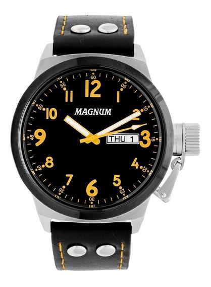 Relógio Masculino Magnum Analógico Ma32774j - Prata