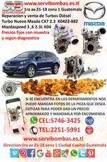 Reparacion De Turbo Mazda Cx7 2.3 K04 Guatemala