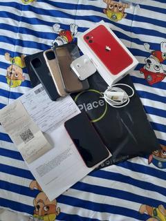 iPhone 11 ( 128 G ,seguro Contra Roubo E Queda,fone De Ouvi