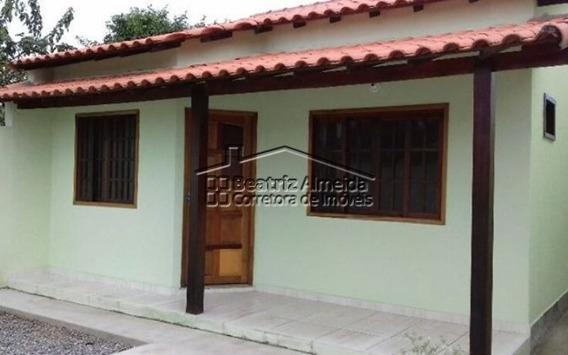 Casa De 2 Quartos Com Excelente Preço Na Chácaras De Inoã - Itaipuaçu