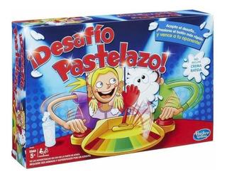 Pastelazo Tortazo Doble, Juego De Mesa Original De Hasbro.