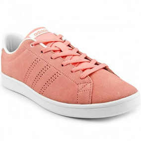 Tênis adidas Advantage Clean Qt Feminino Rosa - Original
