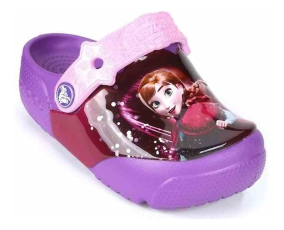Crocs Frozen Lights Roxo