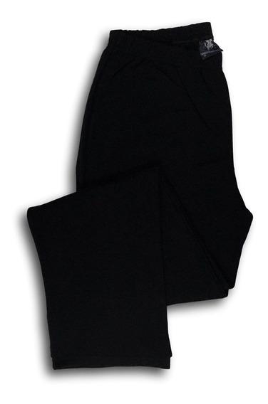 Calça Moletom Masculina Flanelada Plus Size Com Bolso 517k