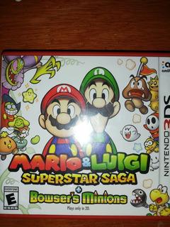 Mario Y Luigi Super Star Saga 3ds