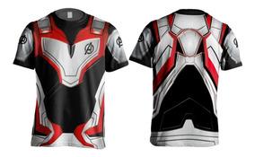 Camiseta Camisa Uniforme Vingadores Ultimato