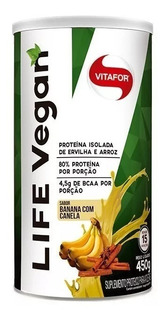 Proteína Vegana Life Vegan Vitafor - 450g (vit B12 + Bcaa)