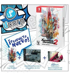 Nintendo Switch Xenoblade Chronicles 2 Edicion Especial