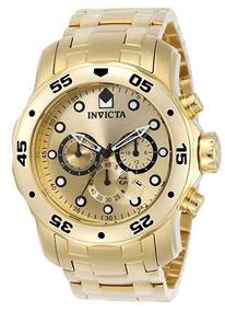 Relógio Invicta Dourado Original - Novo