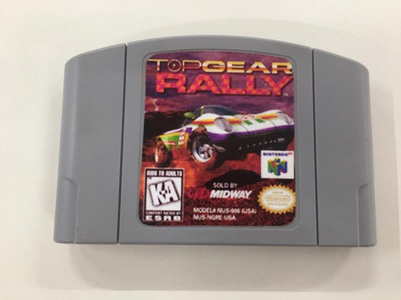 Top Gear Rally Nintendo 64 Original