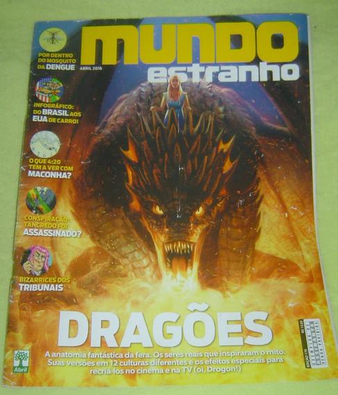 Revista Mundo Estranho Ed. 179 Abril 2016 - Dragões.
