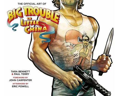 Libro: The Art Of Big Trouble In Little China