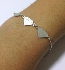 Pulseira Prata Diamante