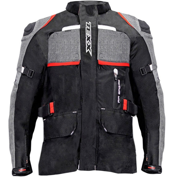 Jaqueta Texx Air Bag Armor Motociclista Impermeável