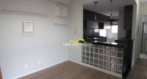 Apartamento Com 2 Dormitórios À Venda, 50 M² Por R$ 270.000,00 - Vila Dainese - Americana/sp - Ap0626