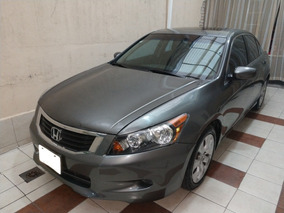 Honda Accord Ex Sedan L4 Piel Abs Cd Mt Qc
