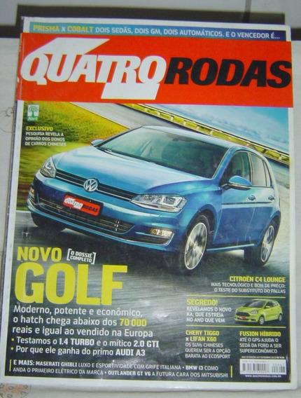 Revista Quatro Rodas Edição 647 - Setembro De 2013.
